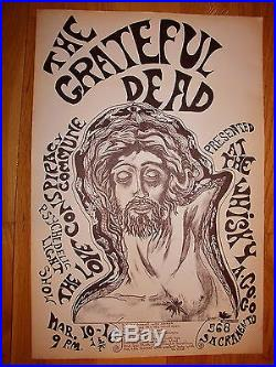 Grateful Dead Whisky A Go Go Poster FD BG AOR