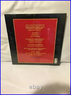 Grateful Dead Without A Net Lp 1990 Sealed 1st Press Shrink Hype + 12x12 Poster