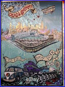 Grateful Dead and Company City Field New York 6/24/17 M DuBois Foil Show Poster
