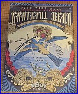 Grateful Dead and Company Fare Thee Well Chicago July 3 4 5 2015 3 Poster Set