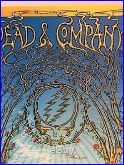 Grateful Dead and Company poster 8/25-26 VA DuBois DOODLED! See pics 94/1150