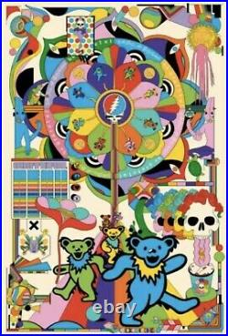 Grateful Dead by Murugiah Art Print Poster LE x/250 BNG Confirmed Order 24x36