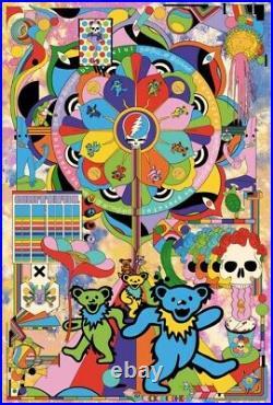 Grateful Dead by Murugiah VARIANT Art Print Poster #/150 Bottleneck BNG