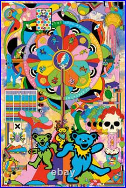 Grateful Dead by Murugiah VARIANT Fine Art Print Poster #/150 Bottleneck BNG NEW
