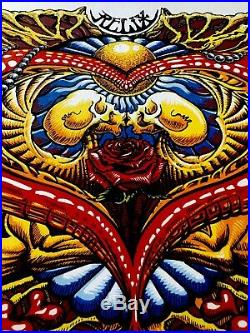 Grateful Dead poster 2019 AJ Masthay art print Relix Steal Your Face Garcia Lesh