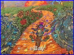 Grateful Dead poster Mike Dubois Triptych Poster Chicago matching Numbers