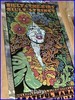 Grateful Mahalo Poster (Lava Foil) by Chuck Sperry X/65 IN HAND GRATEFUL DEAD