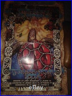 Grateful dead 2nd edition summer tour 1995 poster. 1298 of 25000 #deadandcompany