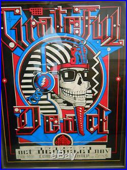 Grateful dead berkeley 1984 framed concert poster rick griffin