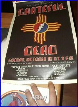 Grateful dead handbill 1982 New Mexico