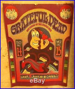 Grateful dead hill auditorium poster