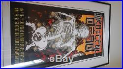 Grateful dead poster signed 1995 Kelly #2366/2500 dead mint