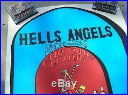 HELLS ANGELS/GRATEFUL DEAD POSTER