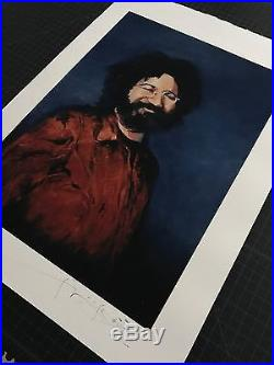 HQ Grateful Dead Jerry Garcia Stanley Mouse Giclee Print COA Signed & Numbered