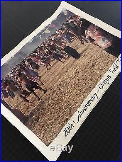 HTF VTG Grateful Dead Jerry Garcia Veneta Oregon 1982 2nd Field Trip AMAZING