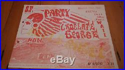 Hells Angels Chocolate George Wail Poster NM condition Grateful Dead AOR 2.251
