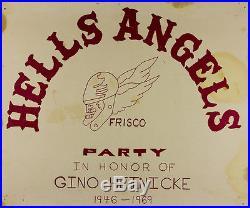 Hells Angels / Grateful Dead Party Poster