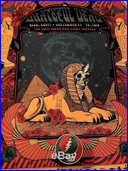 Helton GRATEFUL DEAD poster Milestones Statusserigraph print Gaza Egypt Garcia