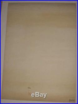 Human Be-In Poster 1967 Authentic Allen Ginsberg Grateful Dead Silkscreen RARE