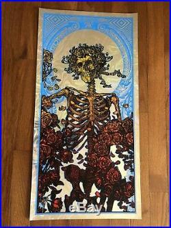 In God We Trust Lava Foil Variant Blunt Graffix Poster Berthe Grateful Dead