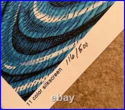 JERRY Garcia EMEK Poster Signed S/N Grateful DEAD SILKSCREEN 2020 gig print /500