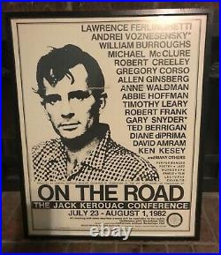 Jack Kerouac Conference On The Road Naropa Institute 1982 Event Poster