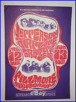 Jefferson Airplane/Grateful Dead- 1966 POSTER