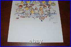 Jerry Garcia Art Print Not 4 For Kids Only Grateful Dead Poster #/1000 Grisman
