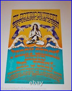 Jerry Garcia Band Dr John Eel River 1989 Uncirculated Vintage Poster
