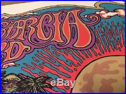 Jerry Garcia Band Poster Hawaii 1990 Print 424/500 Hand Signed
