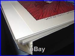 Jerry Garcia Bed of Roses art print designed by Marq Spusta -grateful dead