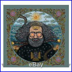 Jerry Garcia Bicycle Day Marq Spusta Print Poster Grateful Dead