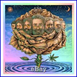 Jerry Garcia Bicycle Day Morning Dew Foil Variant Edition #25 Emek Grateful Dead