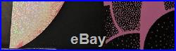 Jerry Garcia Bicycle Day Poster Helton Sparkle Foil S/N #/30 Grateful Dead