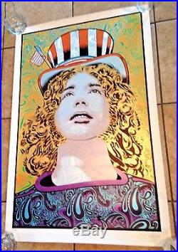 Jerry Garcia'Captain Trips' Chuck Sperry The Grateful Dead Poster Print S/N