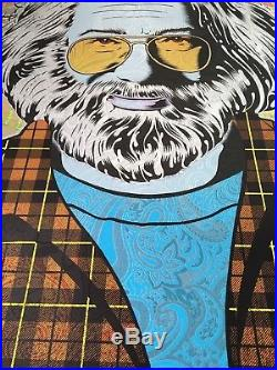 Jerry Garcia Chuck Sperry Art Print Poster Tangled Up In Blue Grateful Dead
