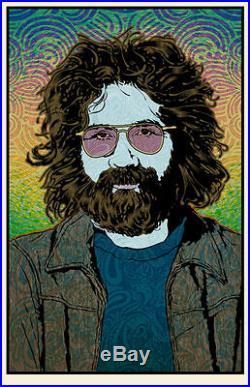 Jerry Garcia Chuck Sperry Orpheus LE s/#'d Poster