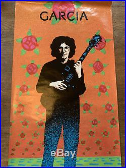 Jerry Garcia GARCIA Comliments Promo Poster by Victor Moscoso Round Records 1974