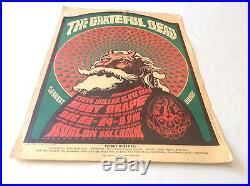 Jerry Garcia/Grateful Dead Family Dog 1966 Concert Poster