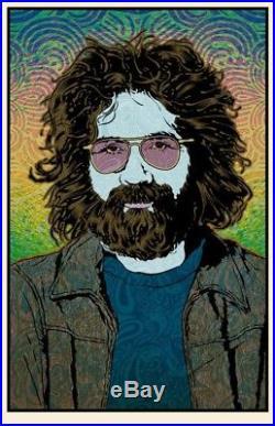 Jerry Garcia Orpheus Chuck Sperry Poster Grateful Dead Art Print