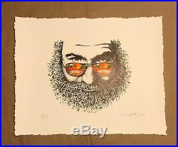 Jerry Garcia Palm Sunday Poster Print By AJ Masthay #/500 Grateful Dead