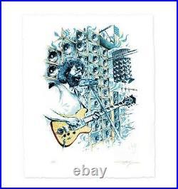 Jerry Garcia Stella Blue By AJ Masthay Art Print Poster Grateful Dead XX/500