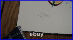 Jerry Garcia Stella Blue Letter Press Print AJ Masthay signed #/500