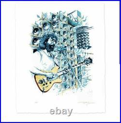 Jerry Garcia Stella Blue Print AJ Masthay Grateful Dead Poster CONFIRMED ORDER