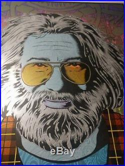 Jerry Garcia Tangled Up In Blue Chuck Sperry Poster Grateful Dead Print Band