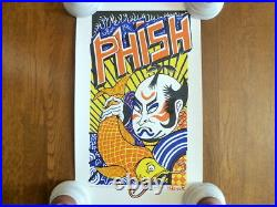 Jim Pollock KABUKI Phish Grateful Dead Poster 1999