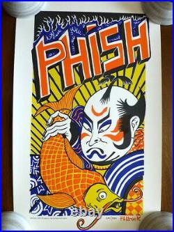 Jim Pollock Kabuki Limited Poster Grateful Dead 1999