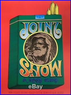 Joint Show Rick Griffin Fillmore Era Poster 1967 AOR