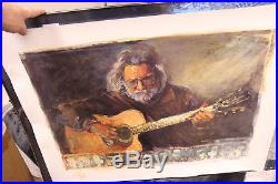 Joseph Divincenzo Jerry Garcia 1996 Numbered Limited Edition Serigraph 3099/5000