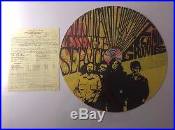 Kaleidoscope Venue QMS Concert Poster 2fer with Original Contract! SIGNED AOR